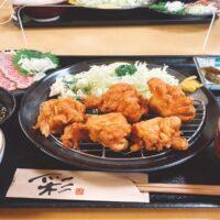 扇大橋駅徒歩5分の住宅街の中にある精肉田中は、店内で飲食することが出来ます