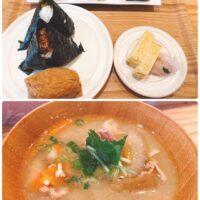 伊興寺町にあるてらまちハウス内のにぎりむすびのランチを食べに行ってきました