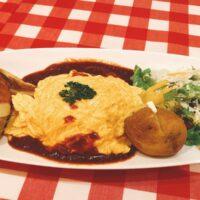 神田グリルは昔ながらの洋食屋さん。ランチメニューが豊富にありレトロな雰囲気が素敵でした